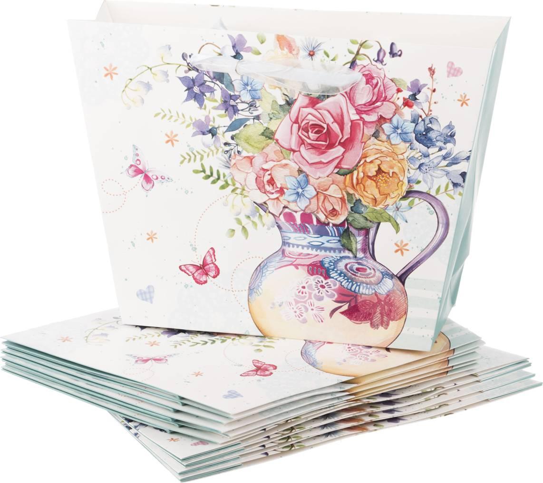 Подарочный пакет и открытка