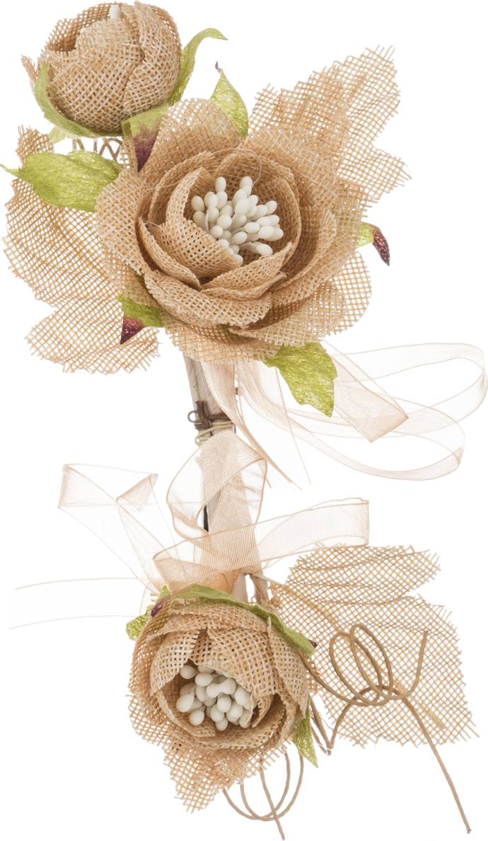 Искусственные цветы для открытки