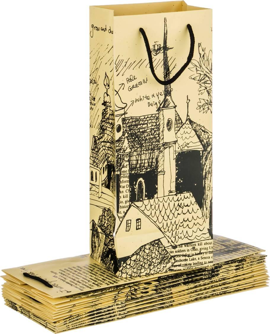 Бумажный пакет для открытки