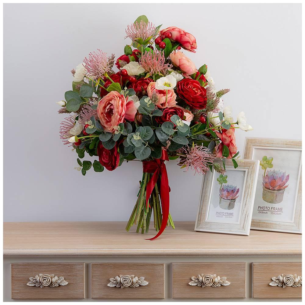 Искусственные цветы для открыток, бабушке для