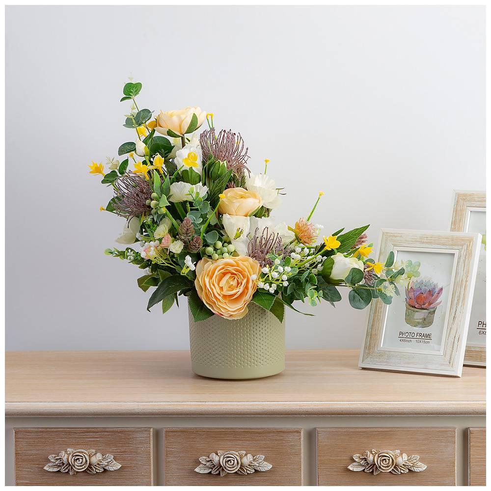 Днем рождения, искусственные цветы для открыток