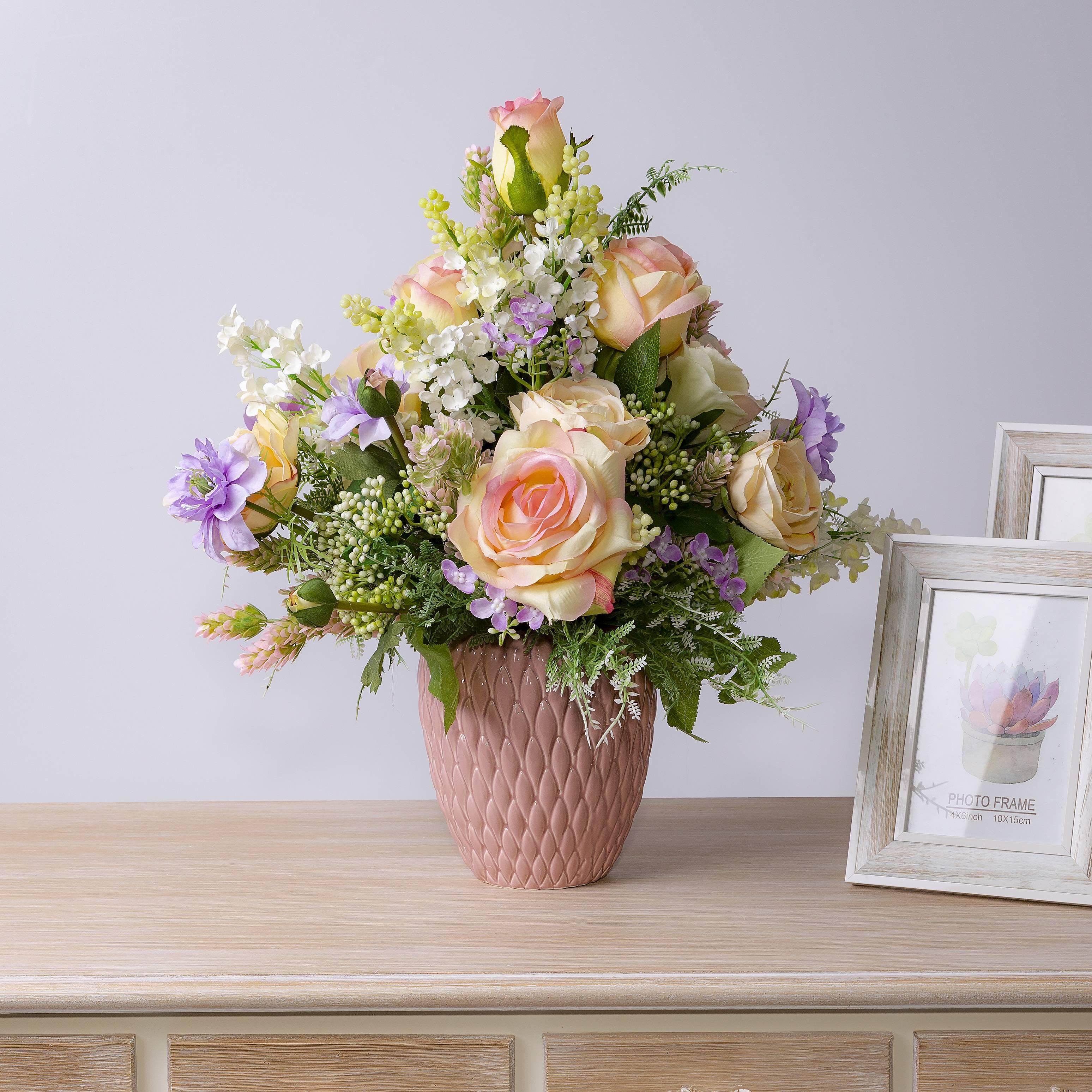 Где купить букеты из искусственных цветов