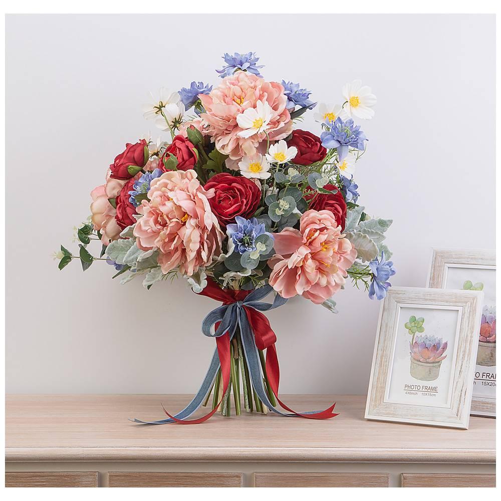 Искусственные цветы для открыток